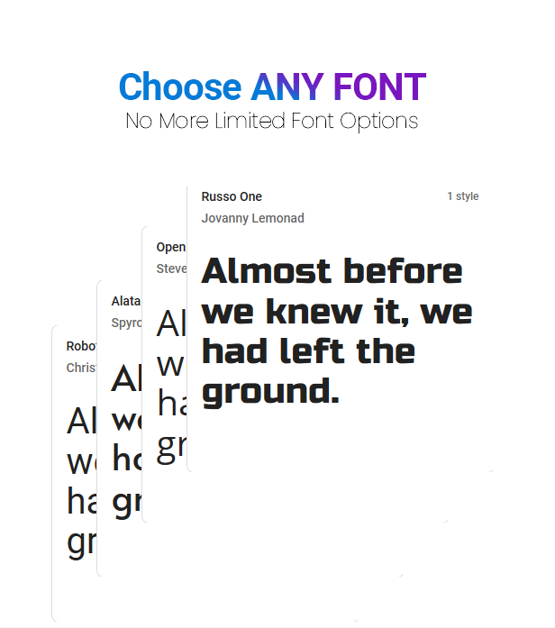 Simple Google Fonts | Web Fonts Manager WordPress Plugin - 4
