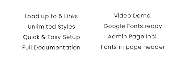 Simple Google Fonts | Web Fonts Manager WordPress Plugin - 6